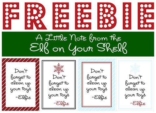 Going Away Elf Letters | New Calendar Template Site